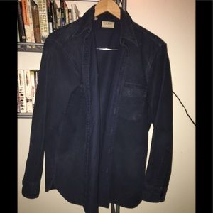 Vintage LL Bean Mens Chamois Shirt Size Large